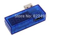 2015 Free Shipping Digital USB Mobile Power charging current voltage Tester Meter Mini USB charger doctor voltmeter ammeter