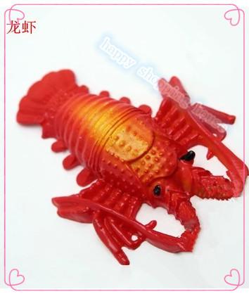 fish tank aquarium decorative landscaping freshwater flat red crab artificial animal 7.5cm*5.5cm 4pcs(China (Mainland))