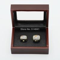 100% copper free shipping TWO(2PCS) NFL  1996,2001 Denver Broncos SUPER BOWL CHAMPIONSHIP REPLICA FAN RINGS FULL SET