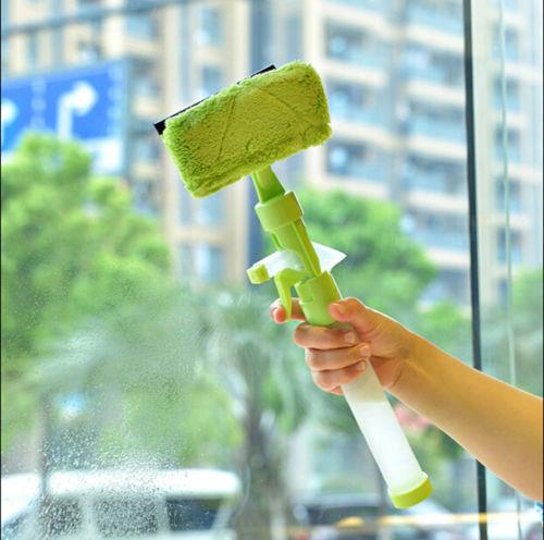 Mutifunctional Car Glass Spray Wiper Window Ceramic Tile Cleaning Squeegee Brush(China (Mainland))