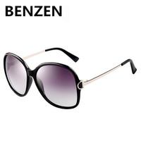 2015  Sunglasses Women Polarized UV 400 Brand Designer Oversized Sun Glasses Female Oculos De Sol Feminino  With Case 6033