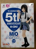 Anime K-ON! Mio Akiyama 5th anniversary Ver. PVC Action Sexy Figure Model Toy 18CM