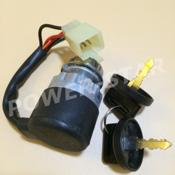 Ignition Switch Key 5 wires for Chinese 150cc 250cc Go kart ATV UTV(China (Mainland))