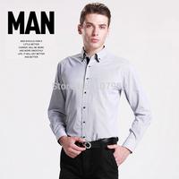 Brand New Men shirt Striped Long sleeve male dress shirt man Business casual shirts camisa social masculina Button down collar