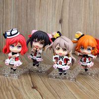Anime LOVE LIVE! Kousaka Honoka Minami Kotori Sonoda Umi Q Version PVC Action Figures Toys 9CM 4pcs/set