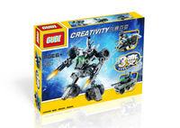 Christmas gift Enlighten Child 8114 educational toys 3 variants beast GUDI DIY building block sets,children toys free Shipping