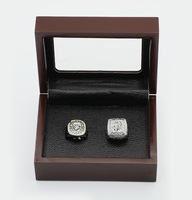 100%copper free shipping TWO(2PCS) MLB 2010 2012 San Francisco Giants World Series CHAMPIONSHIP REPLICA FAN RINGS FULL SET