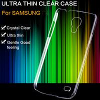 3pcs/lot! Transparent Clear Crystal Mobile Phone Cover For Samsung Galaxy S4 Mini I9190 I9192 I9195 Slim Light Hard Back Case