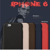 Original Genuine Leather Back Cover Case for iPhone 6 #02629715