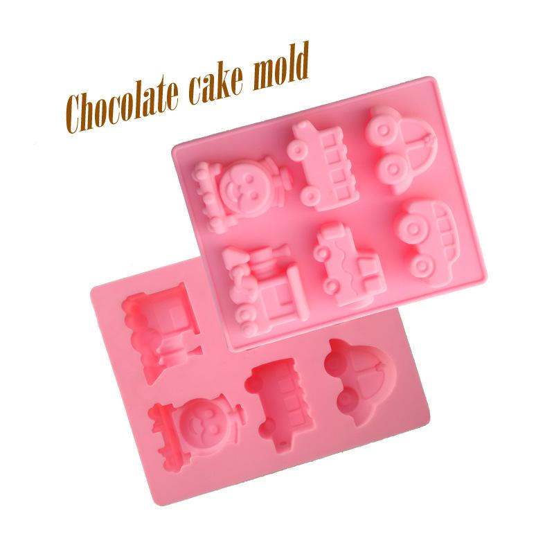 Hole Cake Pan Hole Car Shapes Cake Mould