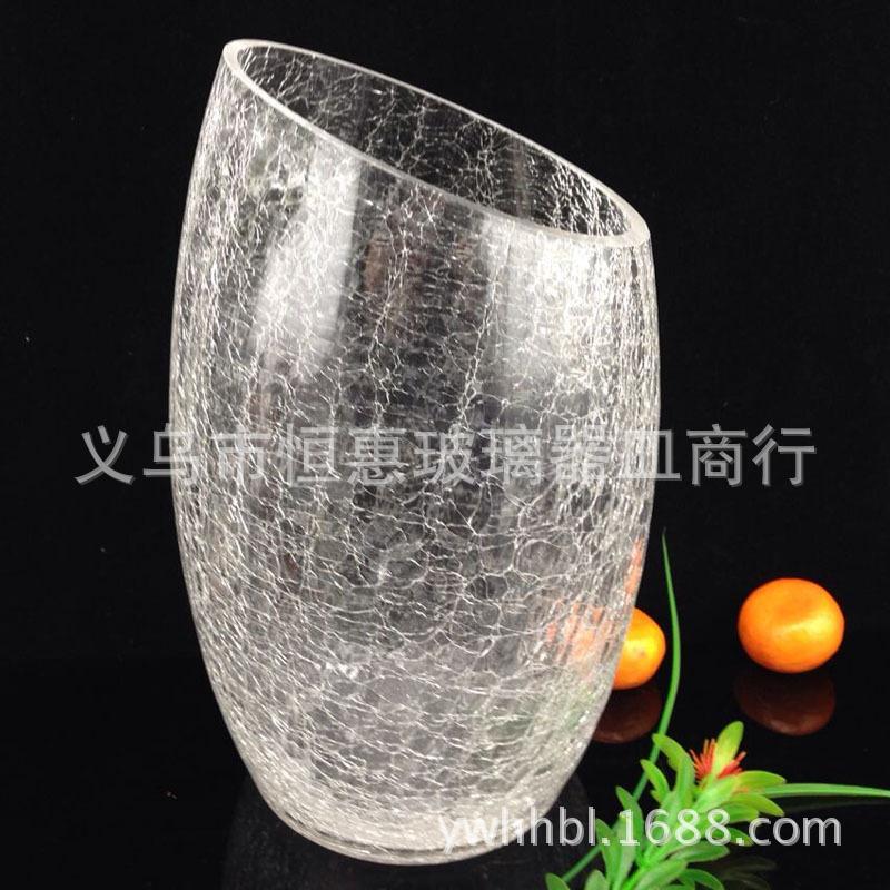 Cracked Glass Lamp Crack Salt Lamp Glass Vase