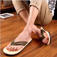 2015 New Summer fashion brand Casual Man sandals Summer Shoes Beach flip flops men shoes
