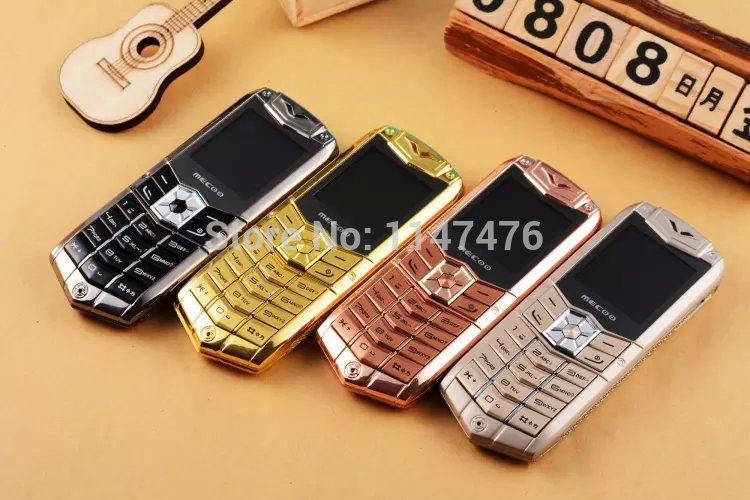 Free shipping Mecoo K2 dual SIM card mini luxury phone Bluetooth Dialer FM MP3 1.5 Inch Mini car phone Russian Keyboard(China (Mainland))