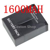 Gopro hero3 hero3+ hero 3+ 3 Rechargeable Battery (1600mAh) ahdbt-301 for gopro camera