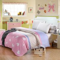 Duvet cover separate 100% cotton duvet cover single double 100% cotton quilt 1.5 1.8 2.0 meters slanting stripe quilt