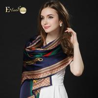 Eluwei silk scarf female mulberry silk soft silk scarf free shipping  female long design silk cape autumn and winter of dual-use