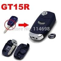 Wholesale NEW Replacement Shell Modified Folding Flip Remote Key Case 1 Button for Fiat Black,blue Color WITH UNCUT BALDE GT15R