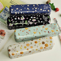 Pencil Case. Vintage printed three layers pencil cases,  Koren stationery ,Free shipping,(tt-3049)