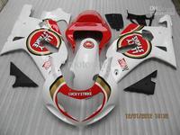 LUCK STRIKE Team Fairings for suzuki GSXR 600 K1 2001 2002 2003 GSXR 750 01 02 03