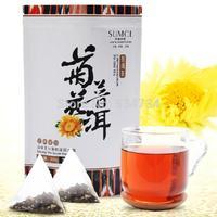 2015 Premium Yunnan puer tea,Old Tea Tree Materials Pu erh, Ripe Tuocha Tea +Secret Gift+Free shipping, Chrysanthemum tea
