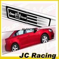 2PCS/SET PC side turn signal lamp mask Sticker For chevrolet cruze 09-14 Free Shipping