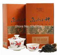 Top Class Lapsang Souchong without smoke Wuyi Black Tea, 150g+Secret Gift+free shipping Organic tea Warm stomach the chinese tea