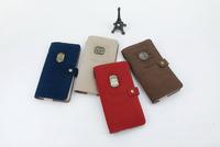 Paris Impression PU Notebook Nostalgia Retro Fabric Diary