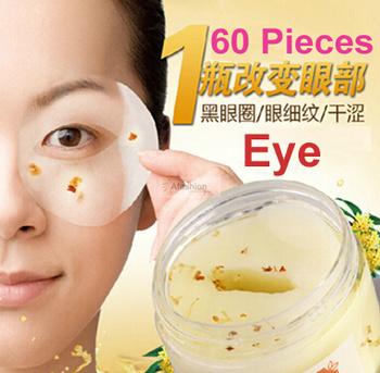60 шт. / бутылка PILATEN золото османтуса маска для глаз женщины коллаген гель сывороточный ...