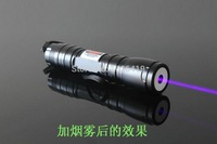 AAA+5000mW 405nm high powered focusable violet blue laser pointer/ UV Purple laser torch Burn Matches free shipping