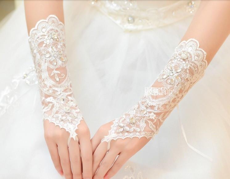 Свадебные перчатки DQFS CV