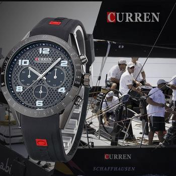 2015 оригинал CURREN 8167 часы мужчины спортивные часы для мужчин relogio masculino esportivo montre relojes де marca мужчины w566