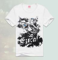 Men's creative movement short sleeved T - Shirt Mens T-shirts wholesale men TX-LX5