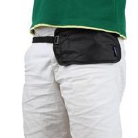 1pcs Travel  Security Money Waist Belt Bag Pouch Hidden Zippered Waist Compact