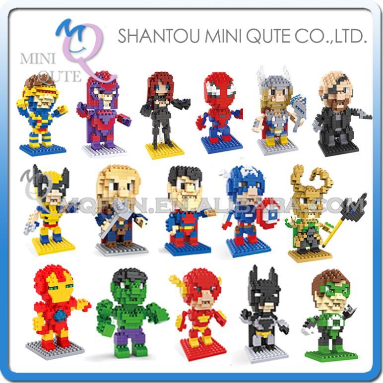 Детское лего 1 Qute HSANHE 18 Spiderman 8114 orient et0p001w