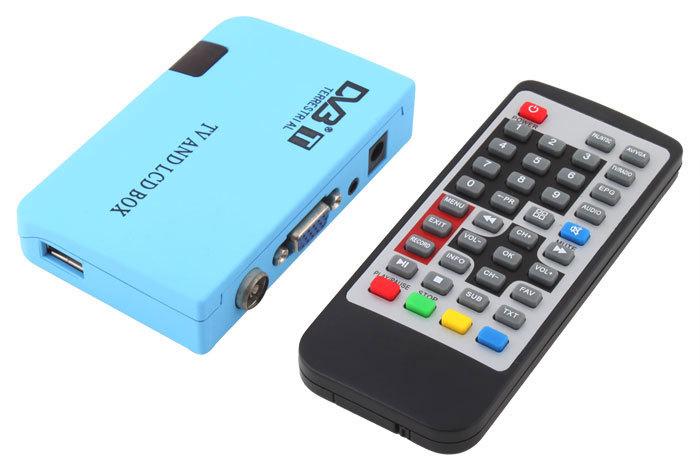 Digital TV Box LCD VGA/AV Tuner DVB-T FreeView Receiver(China (Mainland))