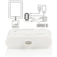 Wholesale 10Pcs/Lot New 2015 5 in 1 Camera Connection Kit USB Micro SD TF Card Reader Adapter For iPad Mini For Ipad 5 Sd Card