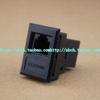 Free shipping 10 X RJ11 RJ-11 Connector Modular Phone Plug Cat3
