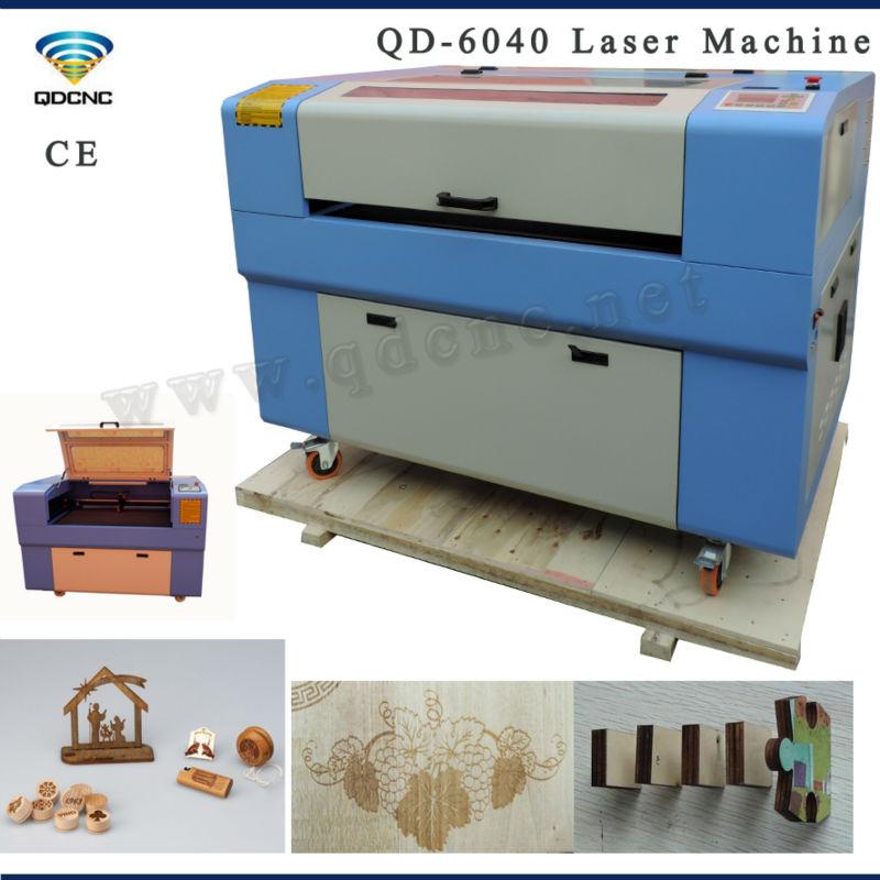 QD-6040 round wood laser engraving machine(China (Mainland))