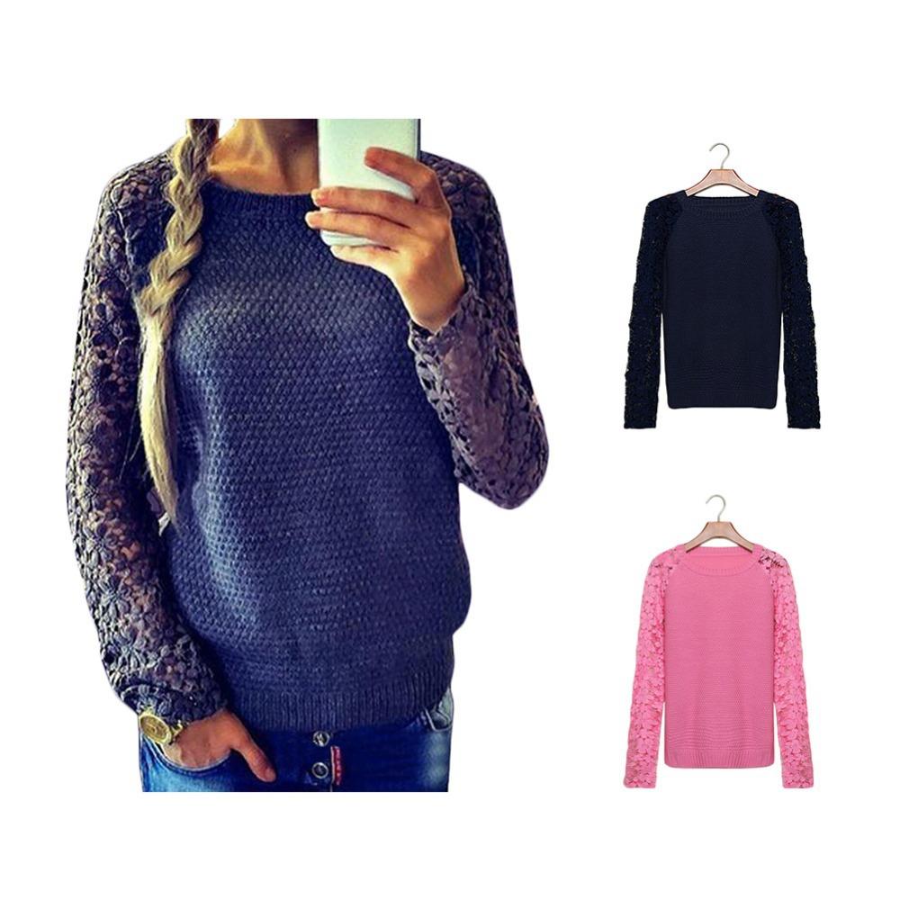 Женский пуловер Sweater 2015 Cotton Sweater