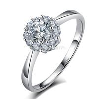 GNJ0628 Brand Design Ring 925 Sterling Silver Ring Eight Star Eight Arrow AAA Zircon Bling Bling Ring Stars Fashion Women