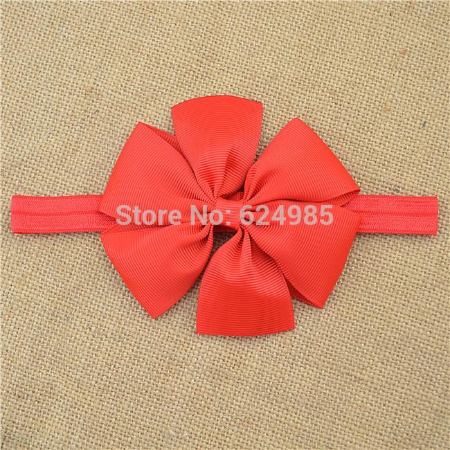 Gold Bow Headband Baby Headband Gold Satin Headband Baby Hair Bows Toddler Headband Newborn Headband1pcs(China (Mainland))