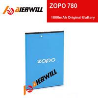100% Original High Quality 1800mAh Battery for ZOPO 780 ZP780 Smartphone Free Shipping