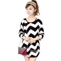 New 2014 Women autumn winter dress Long Sleeve knitted dresses Loose plus size Bat Sleeve casual dress vestidos SV14 CB031315