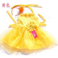 Dresses New 2014 Brand Summer Girls Dress Baby & Kids Clothes Girl Print Dress Floral DANCE Cute Toddler Princess Tutu Dress