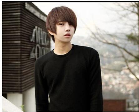 handsome korean style man hair fluffy wig Hot boys wig New fashion Korean men s short
