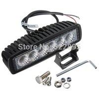 "30PCS! 5.5"" 18W LED Offroad Work Light Spot/Flood beam 12V 24V ATV SUV Mine Boat Lamp Truck,Wholesale 18w IP67 led light bar"