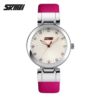 Fashion Luxury Brand Watches Women Leather Strap Women Rhinestone Quartz Watch Casual Dress Wristwatches relogios feminino