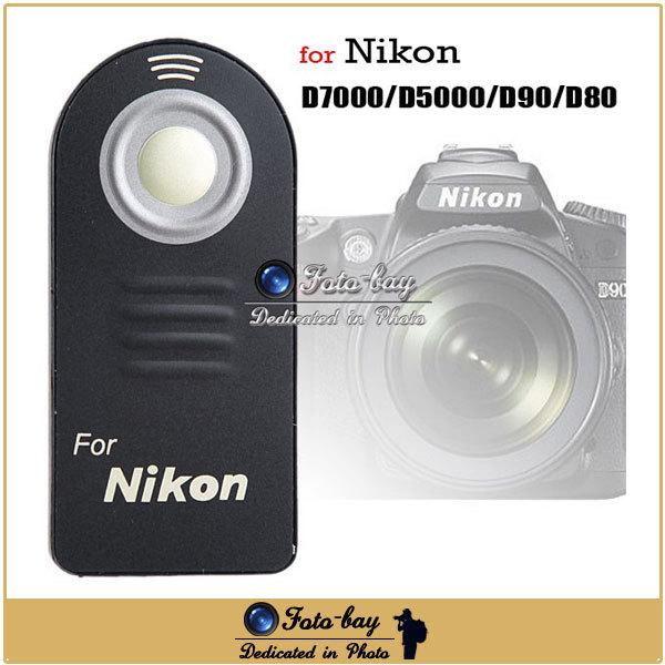 IR Wireless Infrared Shutter Remote Control for Nikon ML-L3 D7100 D7000 D90 D5300 D5200 D3300 D3200 D3100 1 V3 V2 DSLR Camera(China (Mainland))