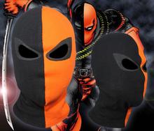 Game Face Deathstroke cómodo telas costilla Terminator Balaclava de Halloween Cosplay máscara de Deadpool traje X-men flecha(China (Mainland))