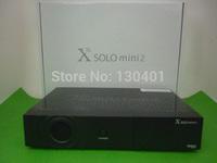 1pc/lot dhl free New model X Solo Mini 2/ mini vu solo with BCM7358 DVB-S2 enigma 2 Linux Satellite Receiver X Solo Mini